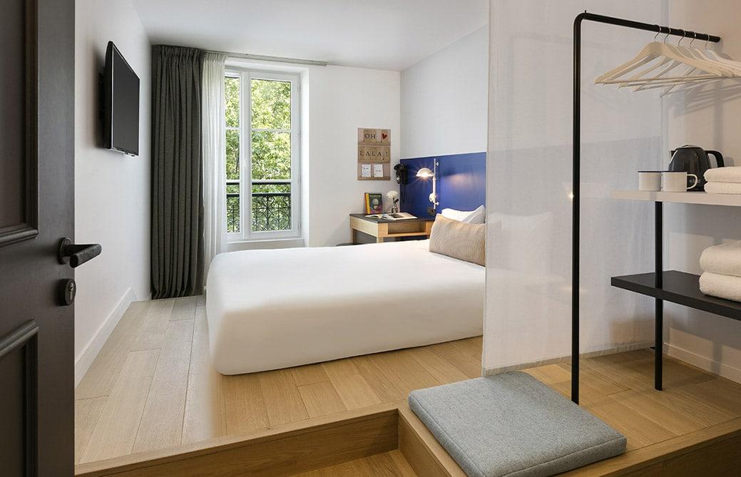 OH LA LA ! Hotel Bar - Chambre double - vue Bastille